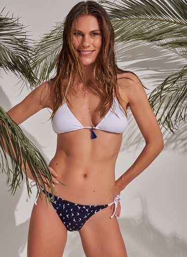 Morhipo Beach Üçgen Bikini Beyaz